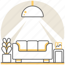 design, interior, living, livingroom, lobby, lounge, room icon