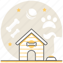 area, design, doghouse, interior, pet icon