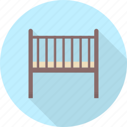 baby, child, cradle, furniture, infant, interior, kid icon