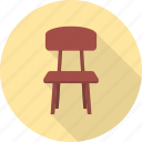 chair, furniture, interior, office, seat icon