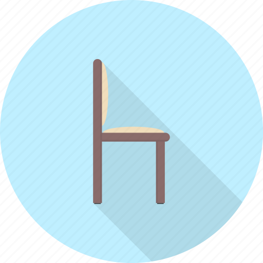 chair, dining, diving, furniture, interior, office, seat icon