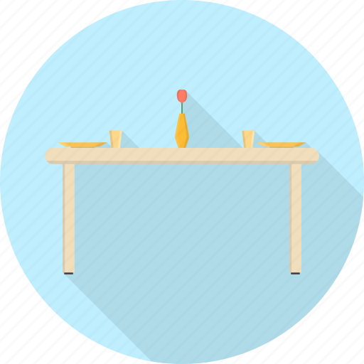 desk, dining, diving, furniture, interior, lamp, table icon
