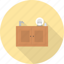 cooking, food, furniture, interior, kitchen, restaurant, sink icon
