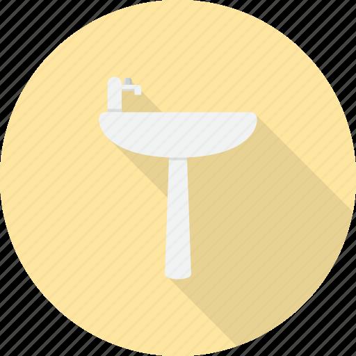 bathroom, furniture, interior, kitchen, sink, wash, water icon
