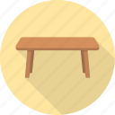 desk, furniture, interior, lamp, office, table icon
