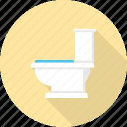 bathroom, furniture, interior, paper, restroom, toilet, wc icon