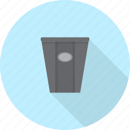 bin, furniture, interior, recycle, trash icon