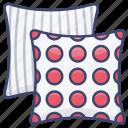 fabric, pillow, cushion, cushions