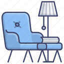 chair, living, lounge, room icon