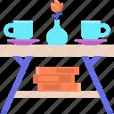 coffee, table