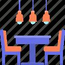 dining, furniture icon