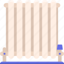 energy, radiator icon