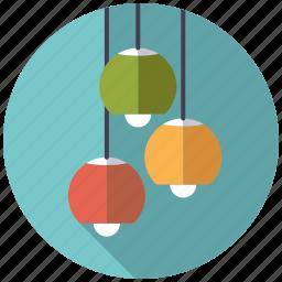 ceiling lamp, furniture, interior, lamp, light, retro icon