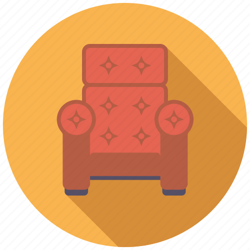 armchair, chair, furniture, interior, upholstered icon