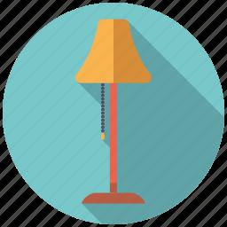 decoration, floor lamp, furniture, interior, lamp, light icon