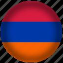 armenia, flag, international, world