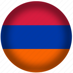 armenia, flag, international, world icon
