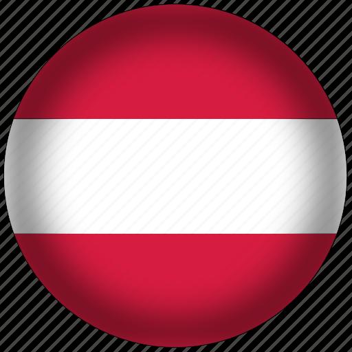 austria, flag, international, world icon