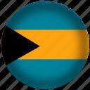 bahamas, international, flag, world
