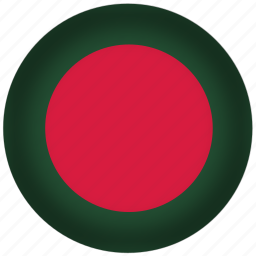bangladesh, flag, international, world icon