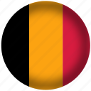 belgium, flag, international, world icon