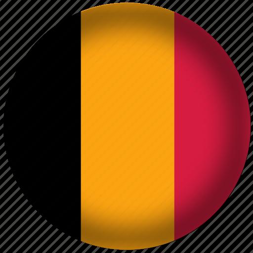 belgium, flag, international, world icon