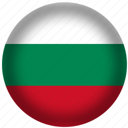 bulgaria, flag, international, world icon
