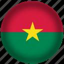 burkina, faso, flag, international, world