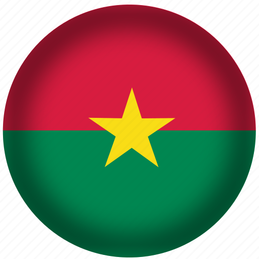 burkina, faso, flag, international, world icon