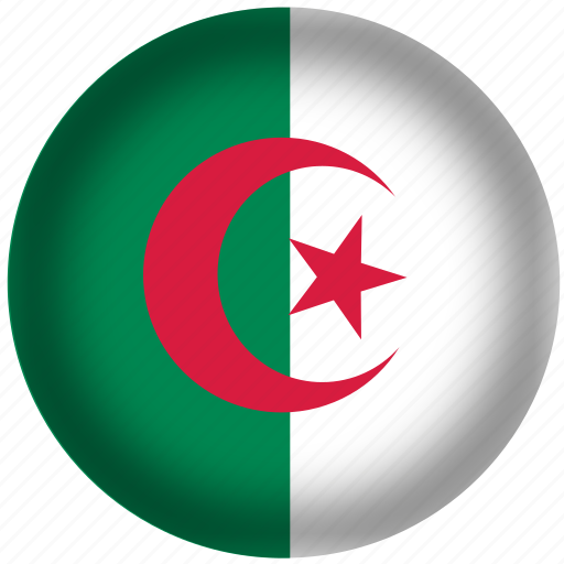 Image result for algeria circle flag