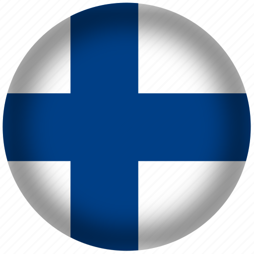 Circle, finland, flag, world icon - Download on Iconfinder