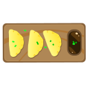 food, gyoza, japanese food icon