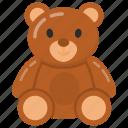 teddy bear, teddy bear gift, soft toy, stuffed animal, childhood toy