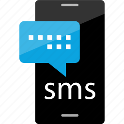cell, conversation, phone, sms icon