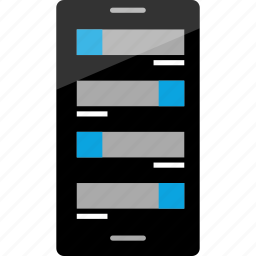 android, conversation, data, message icon