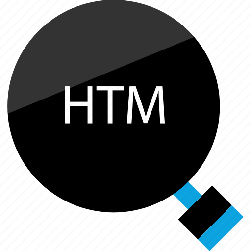 find, htm, searchable icon