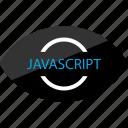 internet, javascript, online, view, watcher, web icon