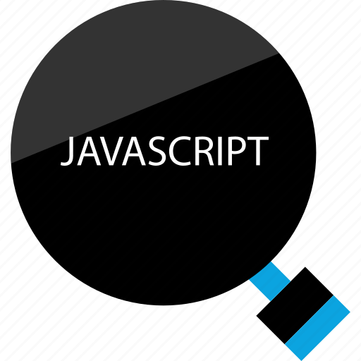 find, javasript, search icon