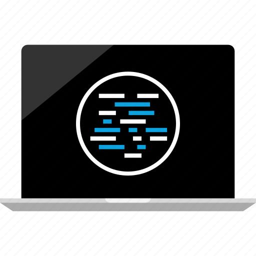 internet, laptop, online icon