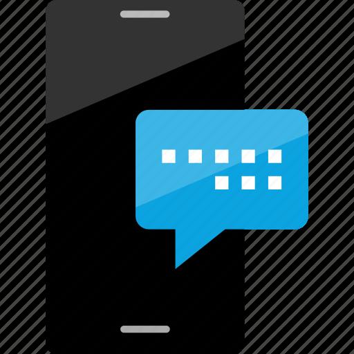 conversation, message, popup icon