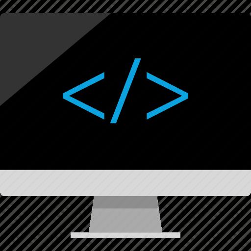 code, internet, sleek, web icon
