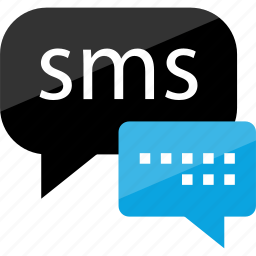 bubble, chat, sms, talk, text icon