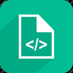 code, coding, html, web icon
