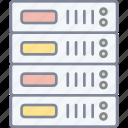 server, database, storage, hosting