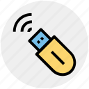 internet usb, usb modem, usb wifi, wireless internet, wireless usb modem icon