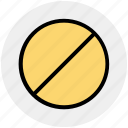 forbidden, prohibition, restricted, stop, warning icon