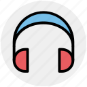 earphone, handsfree headset, headphones, headset, phone headset icon