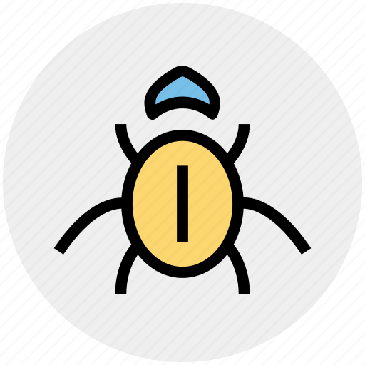 internet bug, virus, virus bug icon