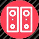 .svg, audio, disco, loudspeakers, speakers, woofers icon