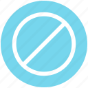 .svg, forbidden, prohibition, restricted, stop, warning icon